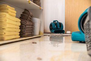 Residential Bathroom Plumbing Causes Water Damage in Estero, FL