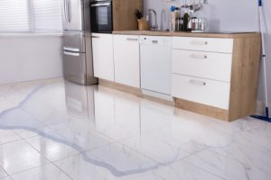 water damage by ServiceMaster by Wright
