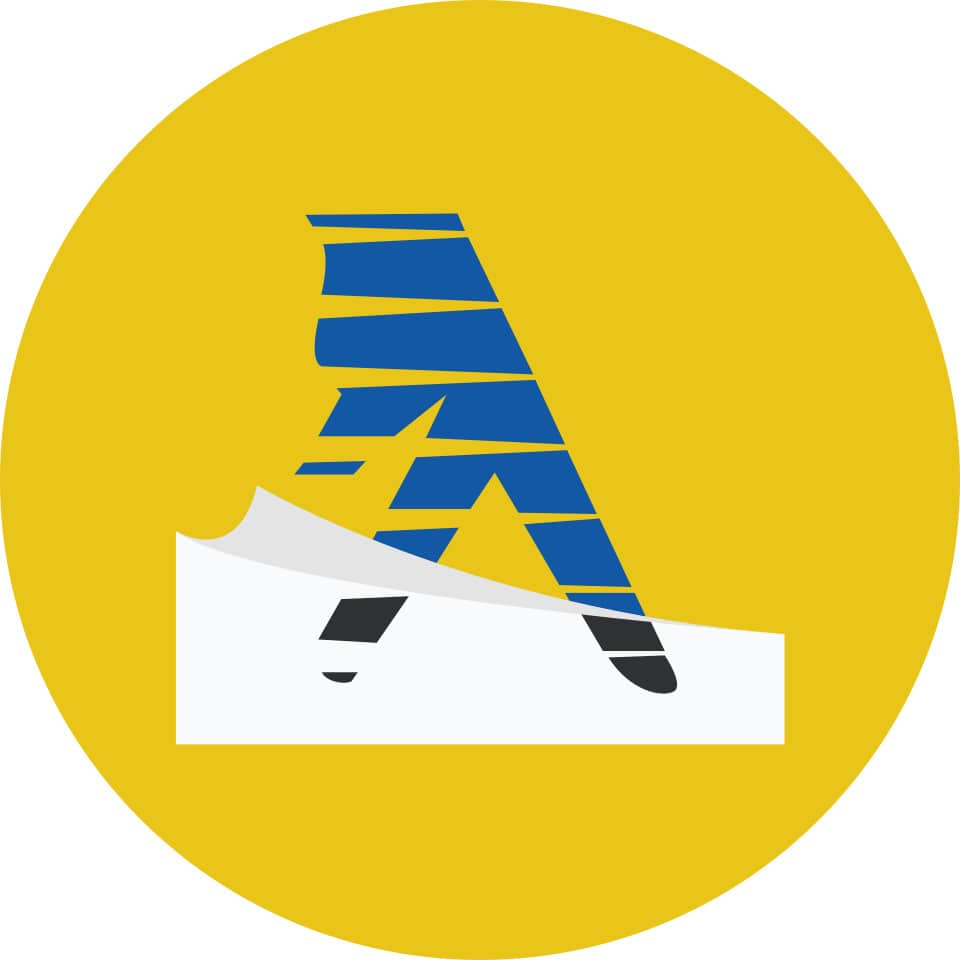 White and Yellow Pages Logo